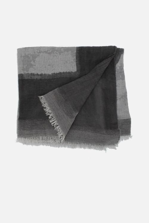 Foulard donna grigio Savile Grey