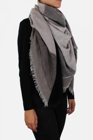 Foulard donna in lana modal Savile Castagna