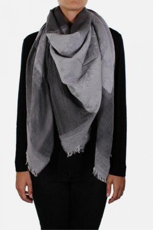 Foulard da donna in lana modal Savile Grey