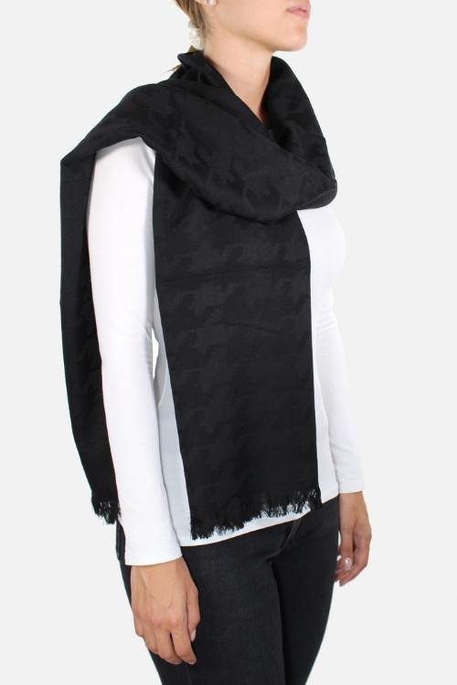 Sciarpa nera Palmyra Black