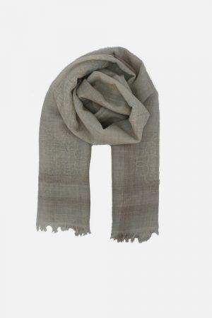 Stola donna in lana con lurex Aline Beige