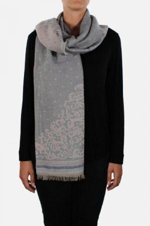 Stola donna in lana con lurex Jade Tiffany