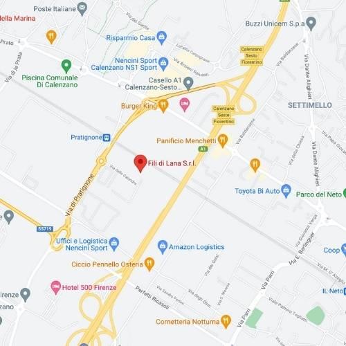 Mappa Factory Store FilidiLana